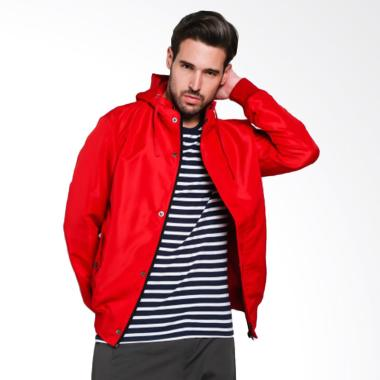 Papercut Men Fox Jacket Pria - Red