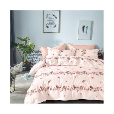 Beglance Kimberley Cotton Bed Sheet Set Sprei - Abu