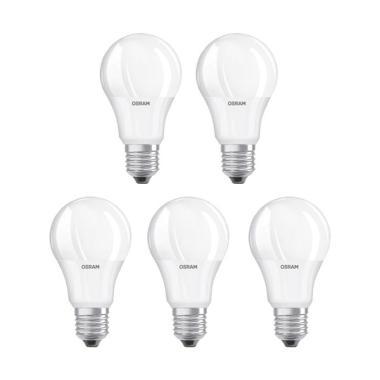 OSRAM LED Lampu Bohlam - Kuning [7 W/5 pcs]