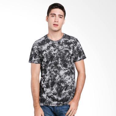3SECOND Men T-Shirt Pria - Grey [1.89.07.17.12]