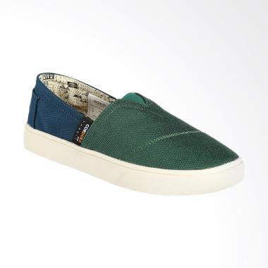 Wakai WKI-SLW11712- CORDURAHAME Sepatu Wanita - Green Navy