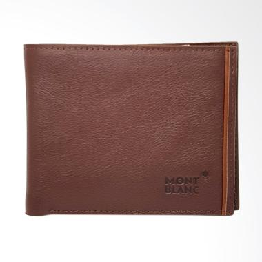 MONT BLANC Dompet Pria - Brown [STSTS]