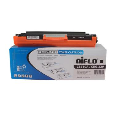 Aiflo Compatible Cartridge Toner for HP CE310 or CRG329 - Black