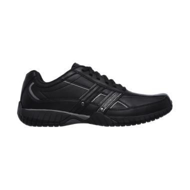 Skechers Sendro Brusco Sepatu Olahraga Pria - Black [65185/BLK]