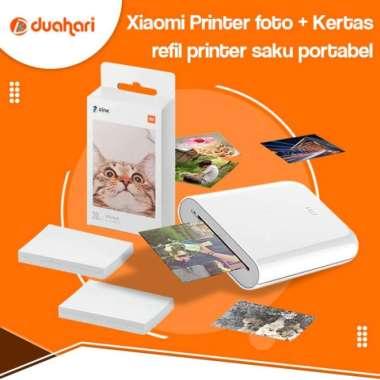 harga Jual Xiaomi Mijia Portable Photo Printer Mini Pocket Printer AR 300dpi - Printer Berkualitas Blibli.com