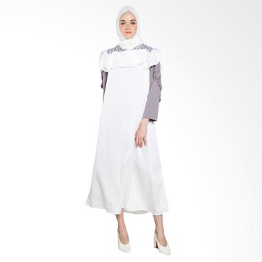 Covering Story Agnica C Long Dress Muslim - Ivory