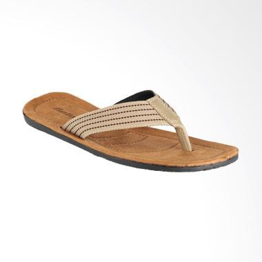 Bata Quado Sandal Pria - Beige [8713119]