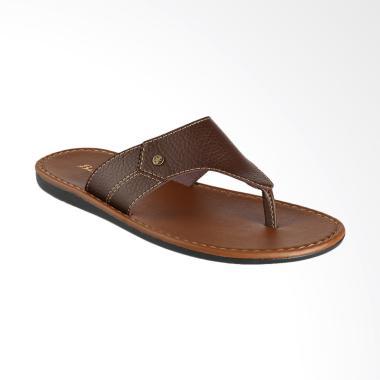 Bata Skoda Sandal Pria - Brown [8714381]