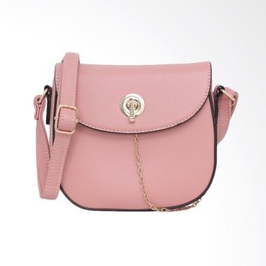 Lorica by Elizabeth Odeya Sling Bag - Merah Muda