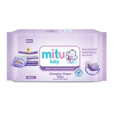 harga Mitu Baby Ganti Popok Purple 50S Blibli.com