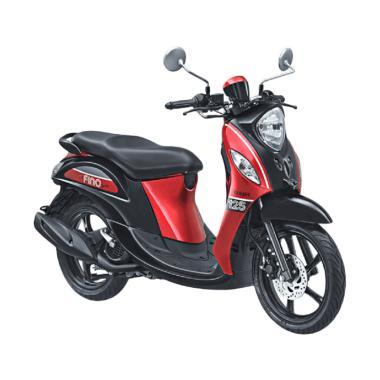 Yamaha Fino Sporty 125 Blue Core Sepeda Motor - Sprint Red
