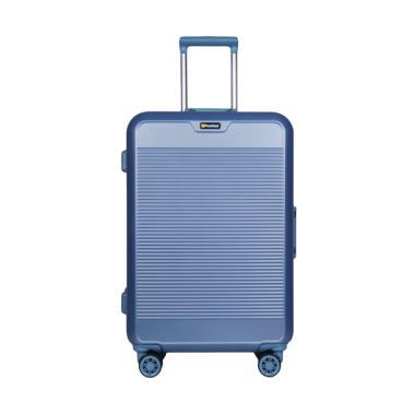 President TSA C89-E Hardcase Travel Luggage Koper - Blue [24 inch]