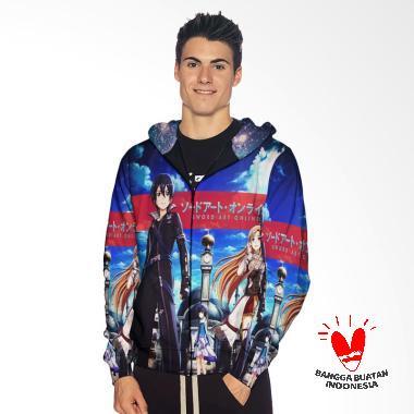 Fika Tema SOA 3D Full Print Sublima ... Jaket Hoodie Sweater Pria