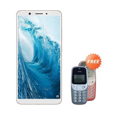 Vivo Y71 Smartphone - Gold [32GB/ 3GB] + Free Prince PC-5