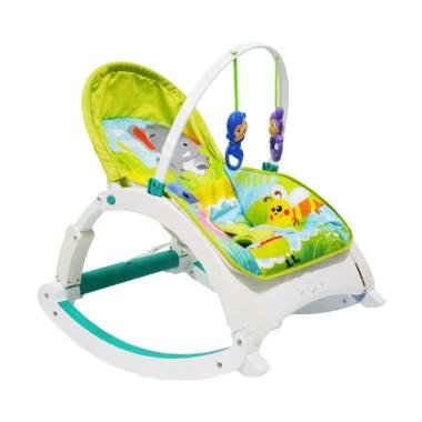 L'abielle Newborn To Todler Rocker Bouncer & Playmat