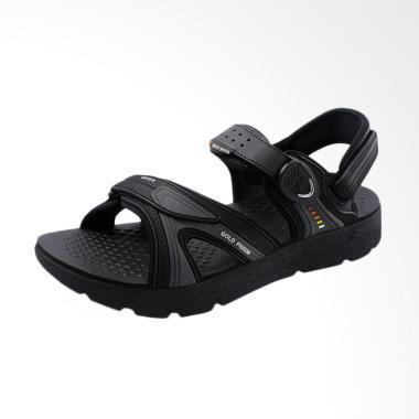 Gold Pigeon UltraLite We-Go Sepatu Sandal Pria - Black [G8693M-10]