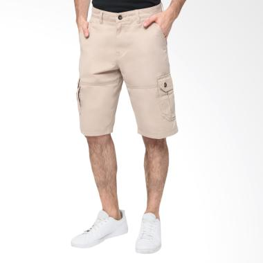 Celana RBJ Chinos Celana Pendek Pria - Light Khaky [504810018]