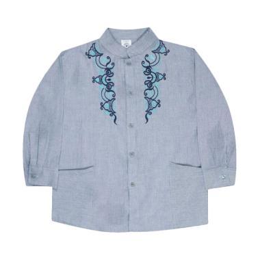 MacBear Ahmad Baju Koko Anak - Light Blue