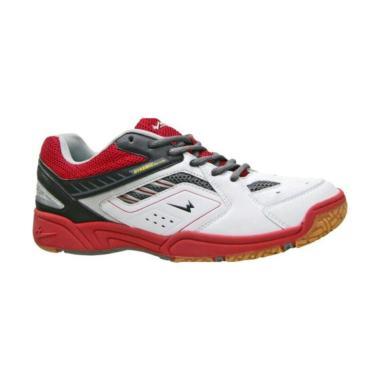 Eagle Ranger Sepatu Badminton Pria - Red White