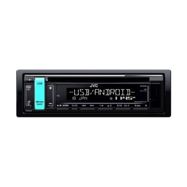 JVC KD-R491 Single Din CD Player USB FLAC Android Music Head unit