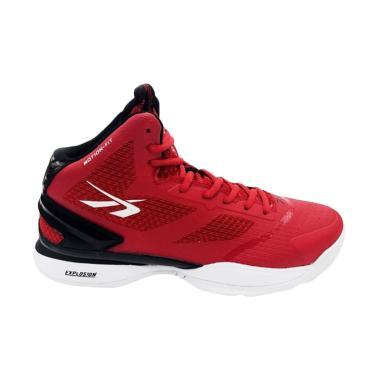 Spotec Exodus Sepatu Basket Pria - Merah