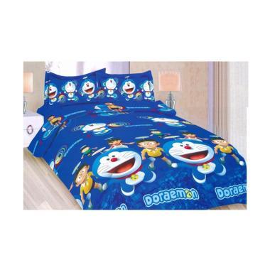 Bonita Motif Doraemon Set Sprei - Blue