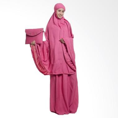 OEM Polos Premium Mukena - Dusty Pink