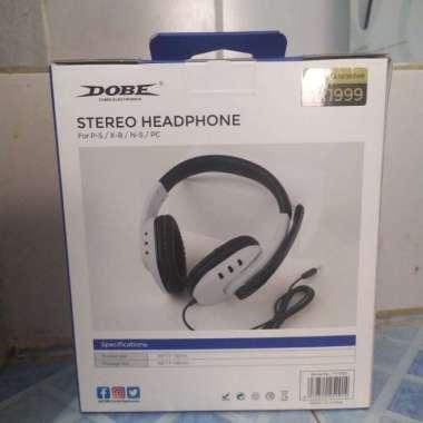 harga FREE ONGKIR DOBE STEREO HEADPHONE FOR PS4-XBOX ONE-N SWITCH-MOBILE PHONE TY-1731 Blibli.com