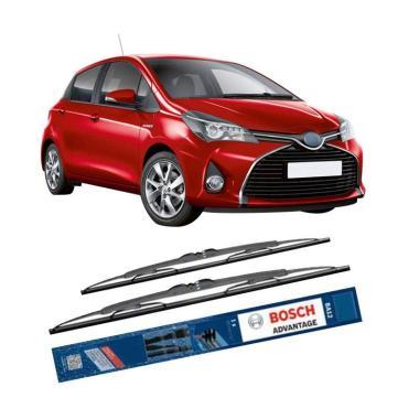 harga Bosch Advantage Wiper Kaca Mobil for Toyota Yaris [24 & 14 Inch] Blibli.com
