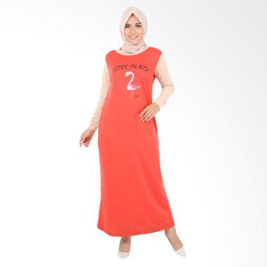 Edberth Fashion Fredella Long Dress Muslim Wanita
