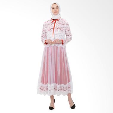 JAVA SEVEN OKI 009 Gamis Wanita - Putih
