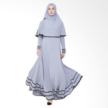 JAVA SEVEN JNE 001 Gamis Wanita - Abu