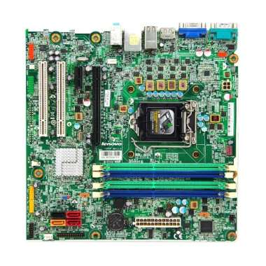 Lenovo IS6XM Tray Motherboard with S1155 Fan - Hijau