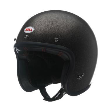 Bell Custom 500 Flake Helm Half Face - Black