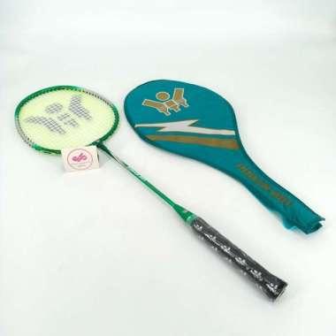 harga Raket Badminton Anak YTY 201 MURAH FREE COVER TAS Bulutangkis Multicolor - Blibli.com