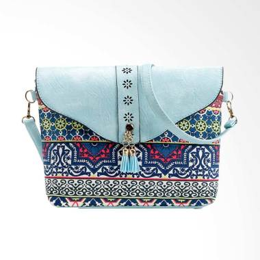 Lansdeal Fashion Flower Print Sweet Pattern Messenger Women Sling Bag