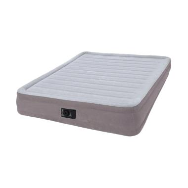 Intex 67770 Dura-beam Series Mid Rise Airbed Kasur Angin [Queen Size]