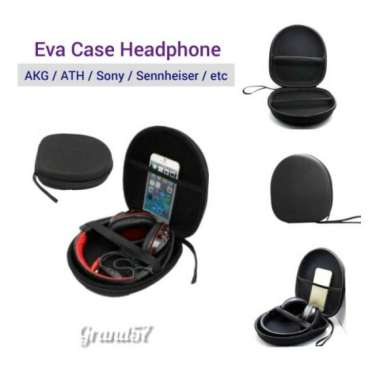 harga Dijual Tas hardcase eva case headset headphone akg ath sony sennheiser philip Limited Blibli.com