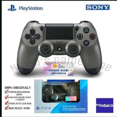 harga PS4 DualShock 4 Wireless Controller Steel Black Blibli.com
