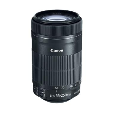 Canon EF-S 55-250mm f/4-5.6 IS STM Lensa Kamera - Ladang