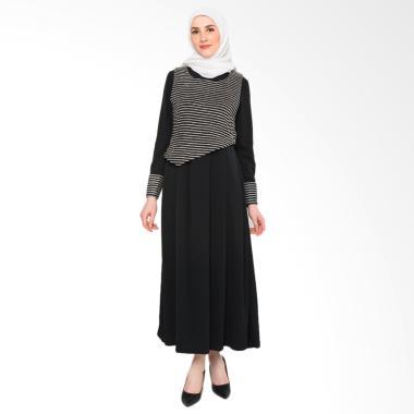 heart-and-feel-muslim_heart-and-feel-muslim-3085-d-maxi-black-dress-in-2-pieces_full05 Koleksi List Harga Dress Muslim Rompi Terlaris bulan ini