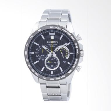 Seiko Chronograph Jam Tangan Pria [SSB303P1] Silver