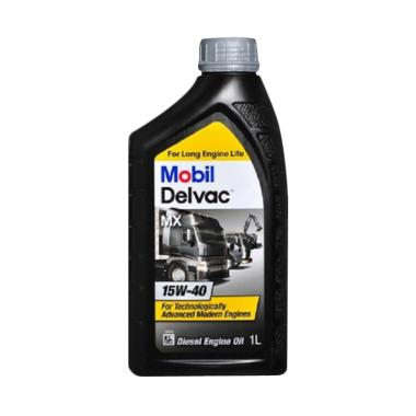 Mobil Delvac MX 15W-40 [1 Liter] - Pelumas Oli Mesin Mobil Diesel / Truk / Mobil Box / Mobil Pickup / Genset Diesel