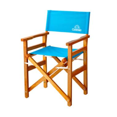 Coleman Classic Wood Chair - Blue