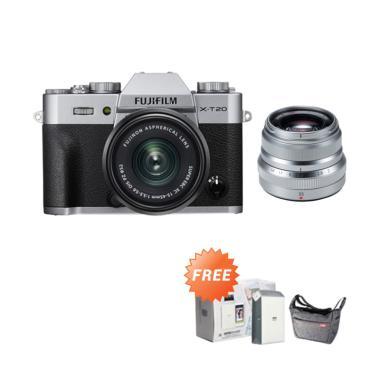 Fujifilm XT20 Kit XC15-45 + XF35mm  ...  (By Claim) GARANSI RESMI