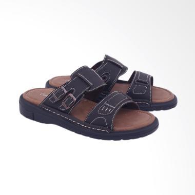 Garsel Kasual Sandal Pria - Coklat [G1GAS 3439]