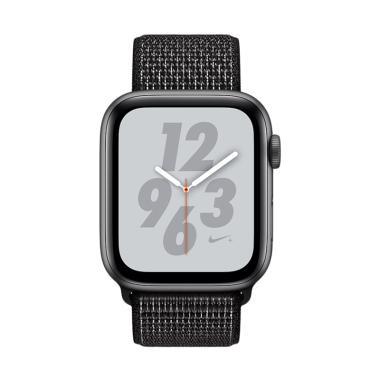 Apple Watch Series 4 Nike+ Aluminum Case with Black Nike Sport Loop Smartwatch - Space Gray [40mm/ GPS]