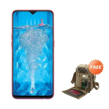 OPPO F9 Pro Smartphone [64GB/ 6GB] + Free Tas Slempang Keren