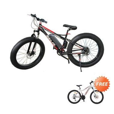 Selis Fat Tire Sepeda Listrik Free MTB 26