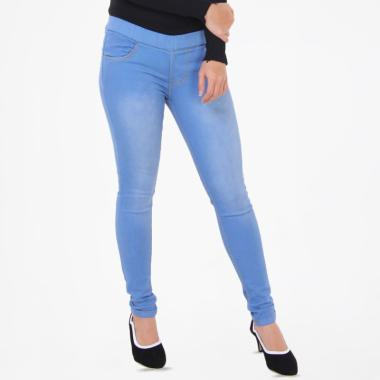 JSK Jeans 8103 Legging Wanita - Biru Muda